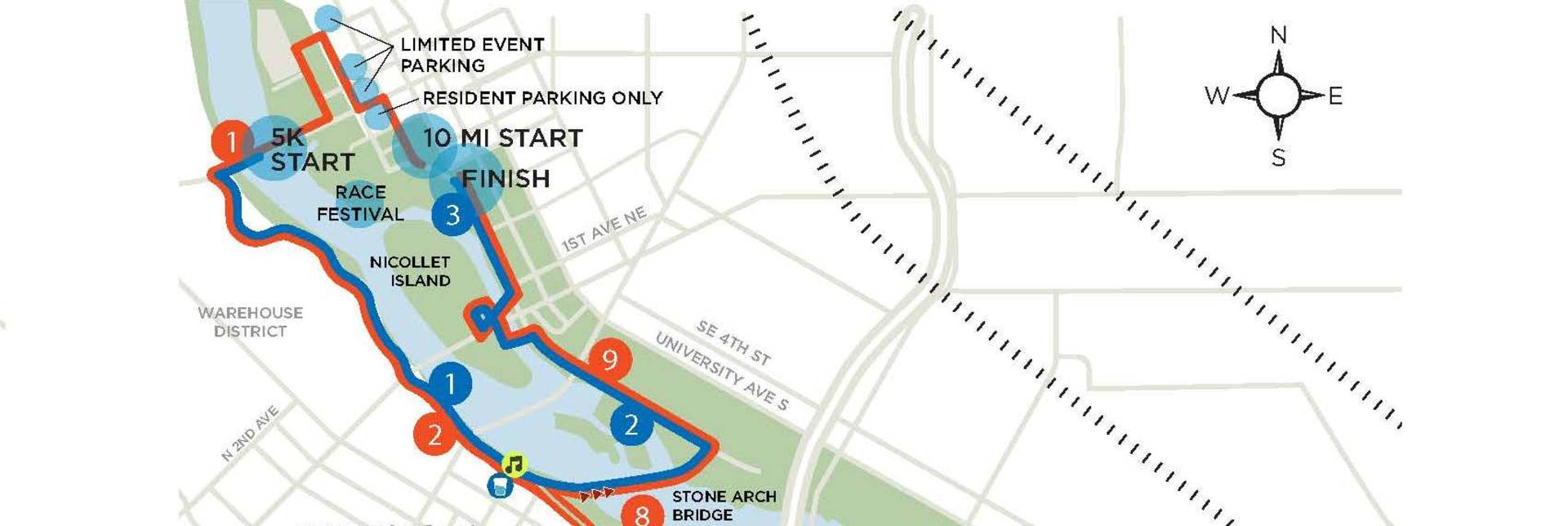 Hot Dash Course Map cropped