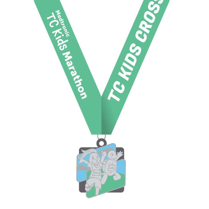 TC Kids Cross Country Fun Run Medal 2018