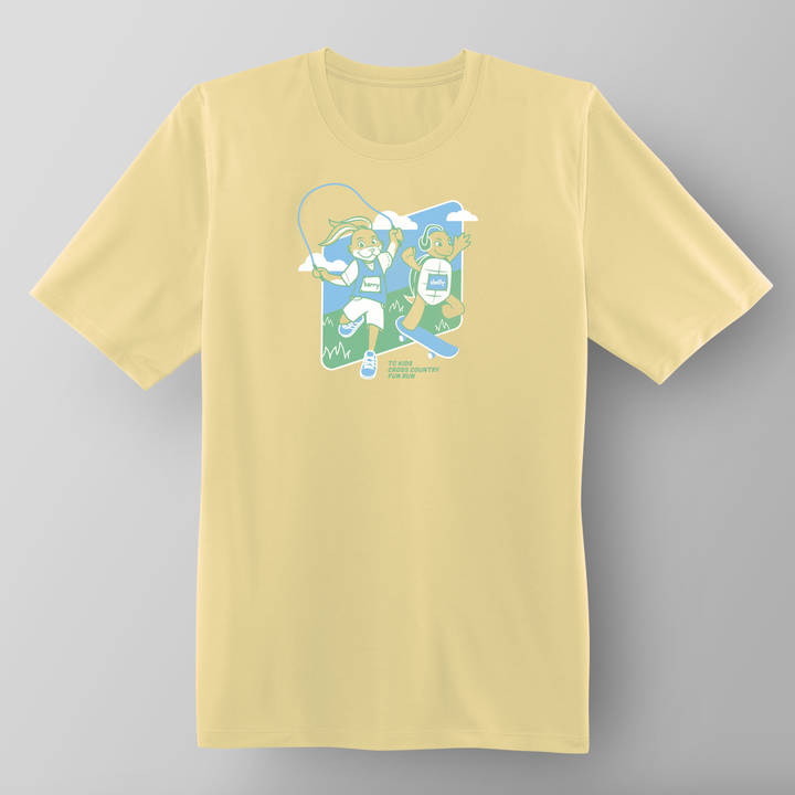 TC Kids Cross Country Fun Run Participant Shirt 2018