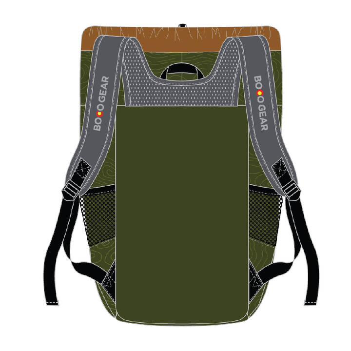 BOCO Gear Pathfinder Daypack north star (Back)